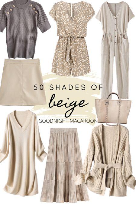 http://liketk.it/2VN4x #liketkit @liketoknow.it goodnight macaroon - beige fall fashion ideas