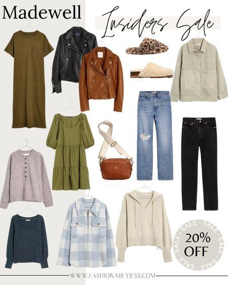 Fall outfits, fall dresses, denim, sweaters, madewell   #LTKunder50 #LTKunder100 #LTKsalealert