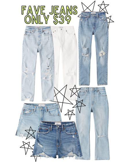 Abercrombie jeans are on major sale! Abercrombie style.. I wear the 24 short!  #LTKsalealert