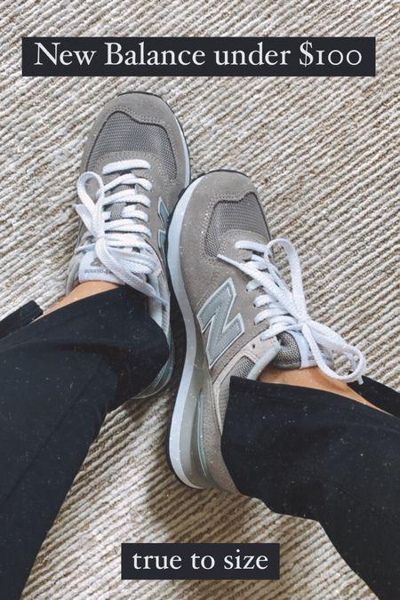Gray new balance sneakers under $100, true to size   #LTKunder100 #LTKshoecrush