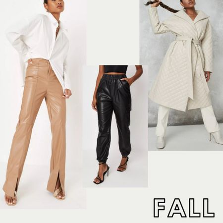 Fall Fashion is here! These super trendy styles are on sale + 25% off with code LTKSALE at checkout until 9/21!!    #LTKunder50 #LTKunder100 #falloutfits #falloutfitsale #sale #leatherpants #fauxleatherpants #quiltjacket #falltrends #trending #leatherjoggers  #LTKSale #LTKstyletip #LTKsalealert
