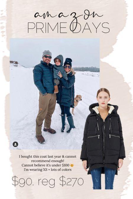 Amazon prime days // winter coat // best outerwear // major deal // http://liketk.it/3i3v2 @liketoknow.it #liketkit #LTKunder100 #LTKstyletip #LTKsalealert