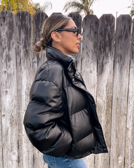puffer jacket. I got a size small for reference  http://liketk.it/37dkt #liketkit @liketoknow.it