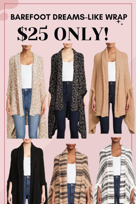 Cozy wrap! Only $25!