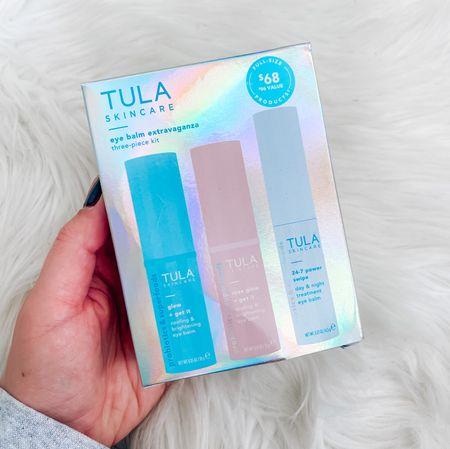 CODE: BLONDEBELLE for 15% off . . . Tula, skincare gift set, Christmas gifts, gift guide, gift guide for her, stocking stuffers   #LTKSeasonal #LTKsalealert #LTKHoliday