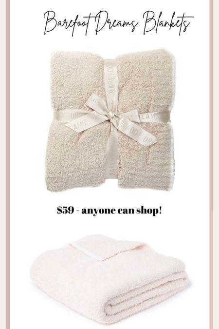 The absolute best blankets! Still in stock in the Nordstrom Anniversary Sale! Barefoot Dreams, Nsale   #LTKsalealert #LTKhome
