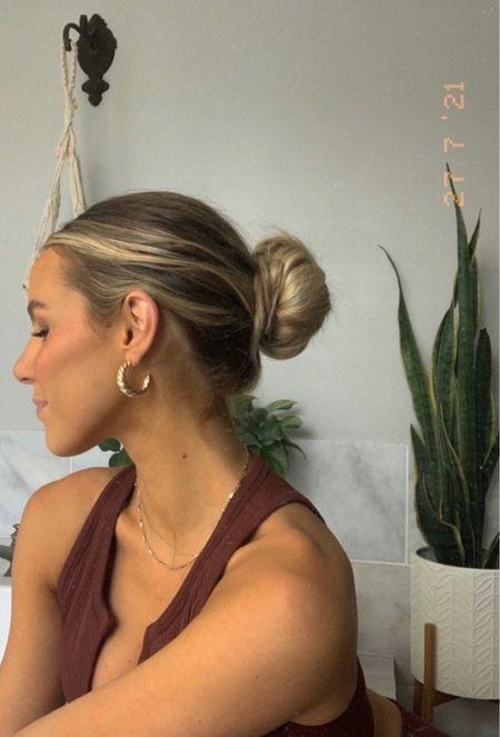 Gold hoops and a bun 🥐   http://liketk.it/3fOpz @liketoknow.it.brasil @liketoknow.it.europe @liketoknow.it.family @liketoknow.it.home  #LTKgetaway #LTKbrazil #LTKsummer #spring #swim #summer #boho #homedecor #home #jeans #springfashion #fit #hair #hairextensions #home #interiors #modern #modernhome #plants #cute #monstera #abercrombie #earrings #target #potterybarn #gold #mirror #round #hat #salon #hair #jeanjacket #levi #blackjeans #blackoutfit @liketoknow.it  #buttondown #oversized #thrift #salon #outfit #summer #summerfit #vintagetshirt #jeanshorts #livingroom #arearug #whitecurtains #coffeetable #amazon #liketkit  #sectional #sofa #couch  Follow my shop on the @shop.LTK app to shop this post and get my exclusive app-only content!  #liketkit  @shop.ltk http://liketk.it/3fOpz Jewelry gold hoops classy plants fit outfit two piece Amazon set ASOS cute city   #LTKbeauty #LTKeurope #LTKsalealert #LTKmens #LTKstyletip #LTKswim #LTKshoecrush #LTKwedding #LTKunder50