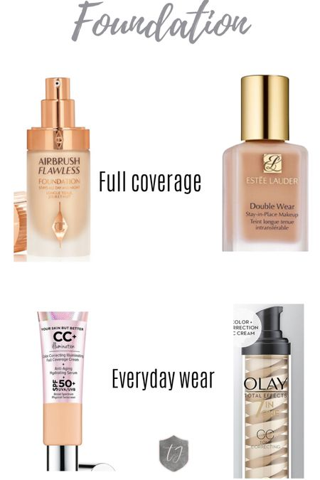 My Favorite Foundations. IT cosmetics. Charlotte Tilbury. Olay CC. Este Lauder. http://liketk.it/3aPf0 #liketkit @liketoknow.it #LTKbeauty Screenshot this pic to get shoppable product details with the LIKEtoKNOW.it shopping app