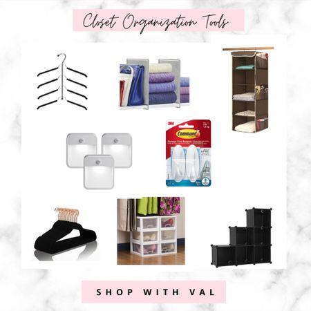 Rounded up all my favorite products to help organize your wardrobe. From space saving hangers to clear shoe boxes to shelf dividers these pieces will be sure to create a clutter free space you'll want to be in.   #LTKstyletip #LTKhome #LTKunder50