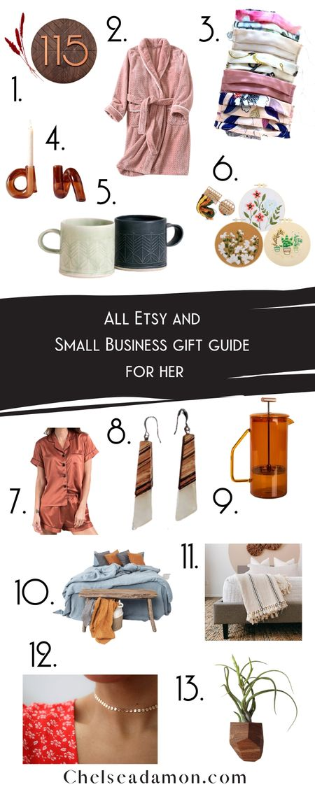 My 💯 Etsy and Small Business Gift Guide for Her ❤️  http://liketk.it/320DX @liketoknow.it #liketkit
