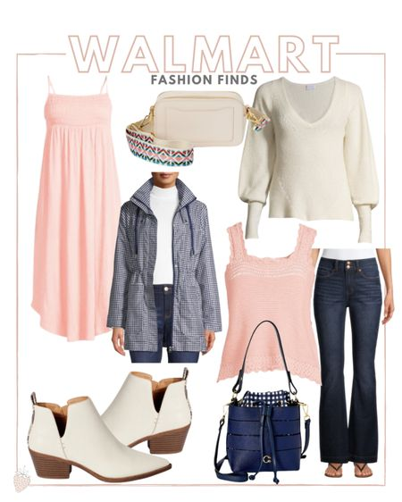 Walmart fashion finds! There are so many good pieces at Walmart right now that you'll be able to wear now and into fall.   #LTKunder100 #LTKsalealert #LTKstyletip