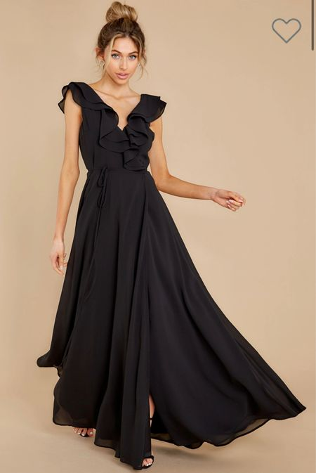 Obsessed with the way this dress flows 🖤  #LTKstyletip #LTKwedding #LTKSeasonal