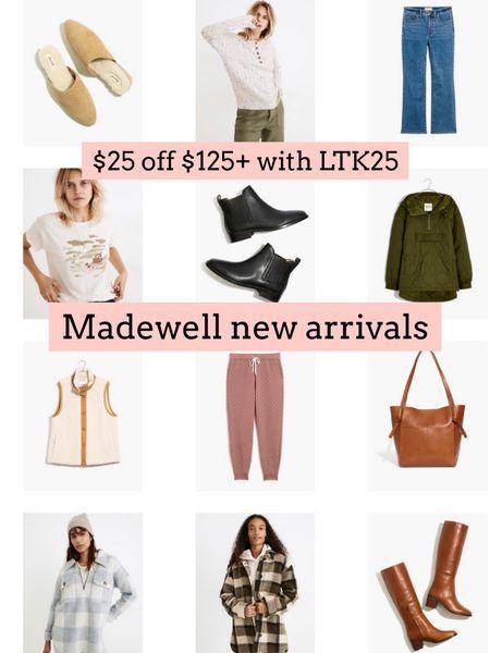 Madewell new arrivals   #LTKsalealert #LTKSeasonal #LTKSale