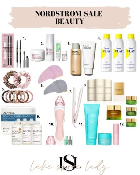 The best beauty deals from the Nordstrom sale! Skincare Haircare makeup #nsale   #LTKsalealert
