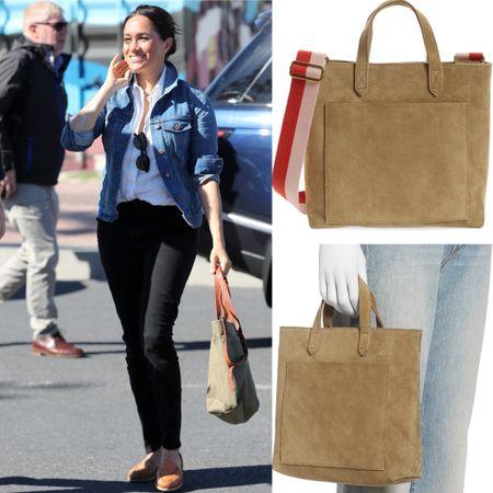 Madewell tote #bag #suede #crossbody #purse
