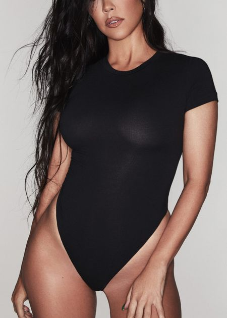 Can't go wrong with a skins body suit! They are stretchy and so comfy always! Shop the new ones from skims cotton collection! #bodysuit #nudebodysuit #kourtneyk #kimk #cottonunderwear #cottonessentials  #LTKcurves #LTKstyletip
