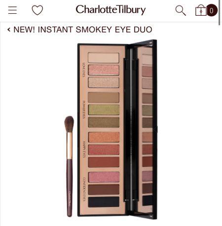 New Charlotte Tilbury Instant Smokey Eye palette