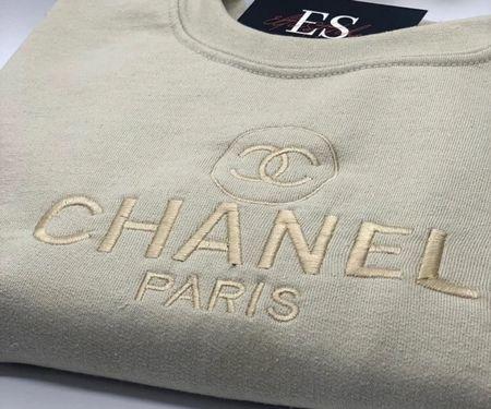 Oooo! Here's a fun designer inspired crewneck sweater! So pretty and it's under $45!   #LTKSeasonal #LTKunder50 #LTKstyletip