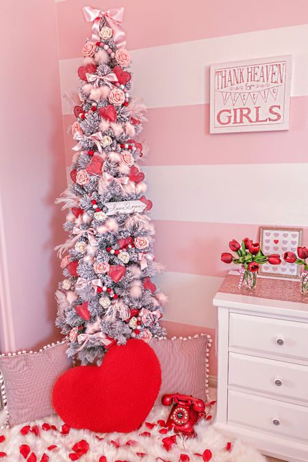 http://liketk.it/2Jyr9 Pushing real hard to make Valentines Tree's a thing!🤣❤️🎄 #liketkit #LTKhome #LTKstyletip #LTKkids @liketoknow.it @liketoknow.it.family @liketoknow.it.home Follow me on the LIKEtoKNOW.it shopping app to get the product details for this look and others #justaddabow💕