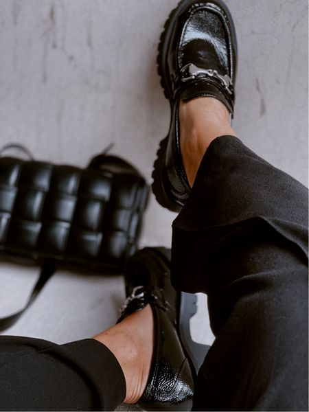 Super comfy loafers, they run a half size big. This bag is a fab dupe! #fallfashion #loafers #shoes #crossbodybag #bag #amazonfashion #ninewest  #LTKunder100 #LTKunder50 #LTKitbag