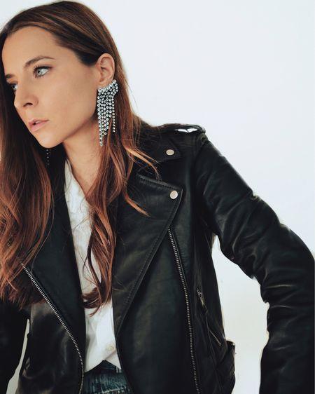The perfect black motto leather jacket   http://liketk.it/3ilLz #liketkit @liketoknow.it #LTKstyletip