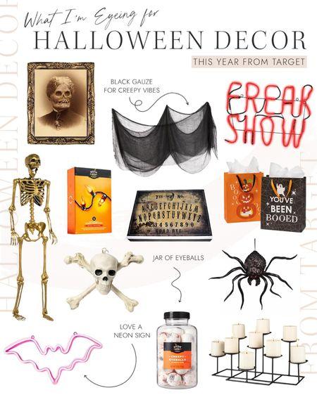 Target Halloween pieces to kickstart October!  #LTKunder50 #LTKHoliday #LTKSeasonal