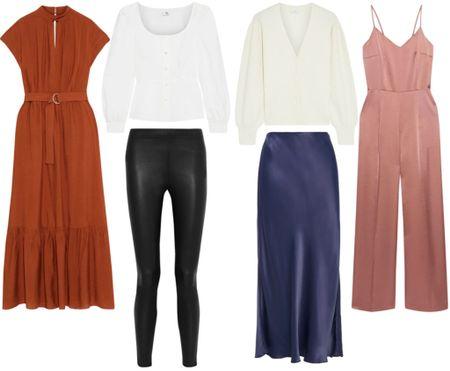 The Outnet is having a huge sale on their Iris & Ink line! So many great picks under $100.  . . . Sale picks, on sale, satin dress, midi dress, wedding guest look, cocktail dress, weddings, satin jumpsuit, formal dress, jumpsuit, leather leggings, leather pants, poplin top, white top, satin skirt, midi skirt, under 100   #LTKstyletip #LTKunder100 #LTKsalealert