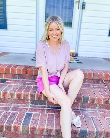 http://liketk.it/3hUXe #liketkit @liketoknow.it amazon fashion top, with easy pull on target shorts