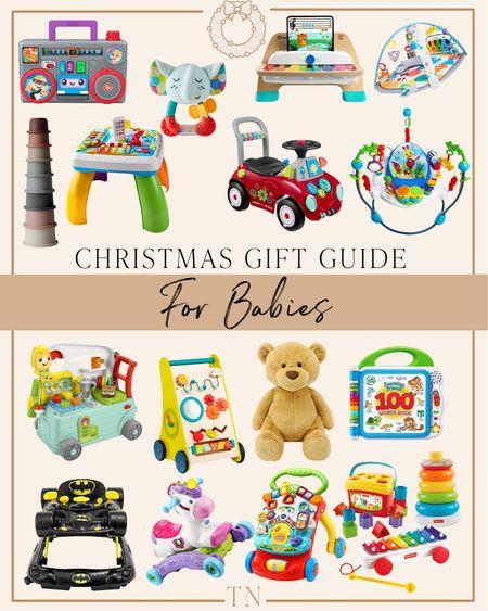 Gift guide for babies and infants    #LTKHoliday #LTKkids #LTKGiftGuide