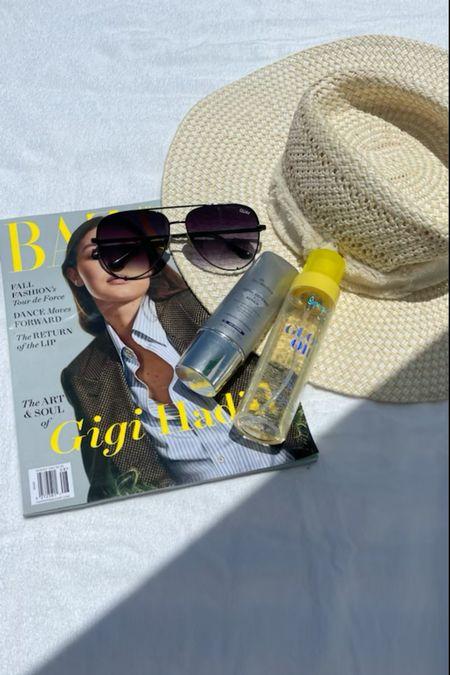Poolside essentials Sunglasses on sale  #LTKswim #LTKunder50 #LTKsalealert