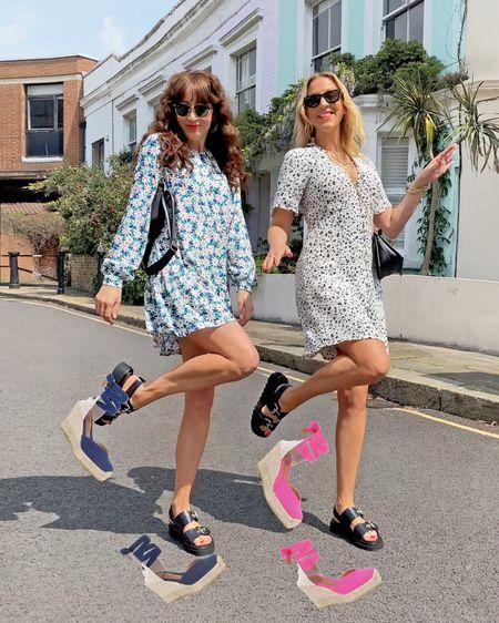 @liketoknow.it #liketkit http://liketk.it/3hET3 mini floral Stradivarius dress, Levi's 501 crop jeans, Levi's Ribcage jeans, H&M midi dress and midi skirt