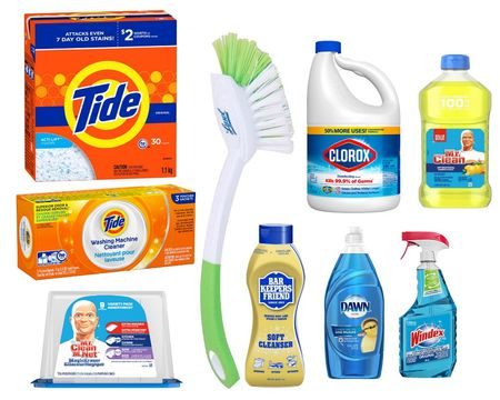 Shop the #cleaningarmy staples for keeping your home clean during quaranclean! 🧼🚿 #bleachpraylove #timeisthenewcurrency #dirtybastards  #LTKhome #LTKunder50 #LTKunder100