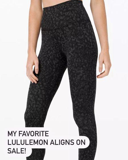 Align leggings on sale! http://liketk.it/37V5T #liketkit #LTKunder100 #LTKsalealert @liketoknow.it
