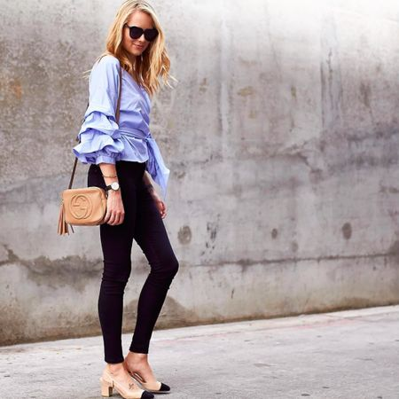 Serious outfit goals from @Fashion_Jackson in our Liah heel. Shop this style and more at #Zappos. http://liketk.it/2pbST  @liketoknow.it #liketkit #WomenWhoWork #WearITtoWork