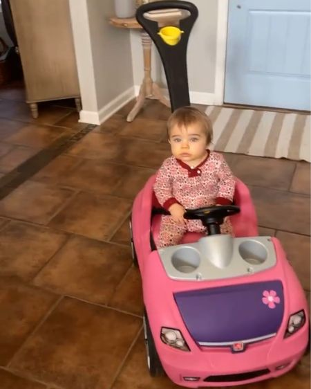 For those that asked, here's Scarletts fun car! Great for babies who can sit-up or walk. http://liketk.it/38C0K #liketkit @liketoknow.it #LTKbaby #LTKkids