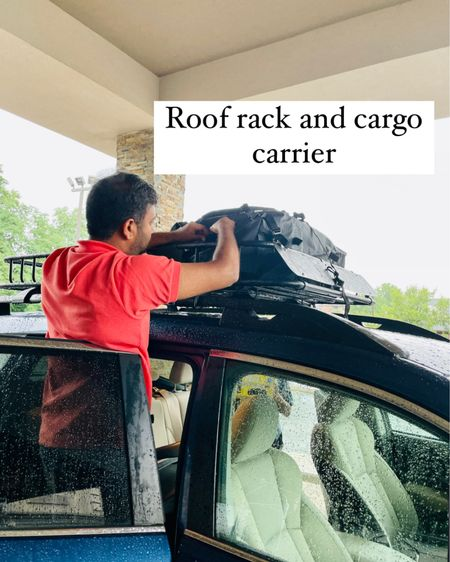 http://liketk.it/3jYxd #liketkit @liketoknow.it #LTKtravel roof rack, road trip with a dog, road trip essentials, cargo carrier