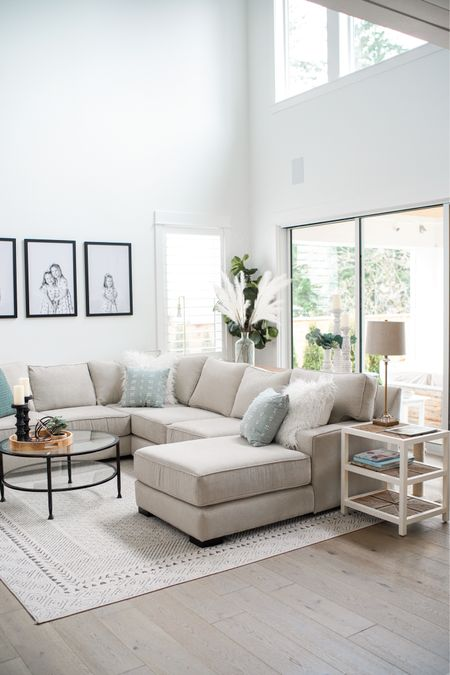 Our living room rug that we get tons of questions on is on mega sale! It's great for kids, dogs and our (soon to be 3 🥴...more in that later) cats.   We also get lots of questions on our couch. It's from a local furniture company called @galleryfurniturepdx but they let me know they're able to ship!    http://liketk.it/3ffp3 #liketkit @liketoknow.it #LTKhome #LTKstyletip @liketoknow.it.home    Follow me on the LIKEtoKNOW.it shopping app to get the product details for this look and others
