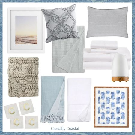 Nordstrom's Anniversary sale is now open to everyone and here are my top picks for the home! A full blog post with my top picks for women, men, kids and babies can be found on casuallycoastal.com! - nordstrom anniversary sale, nsale, coastal decor, beach house decor, beach decor, beach style, coastal home, coastal home decor, coastal modern, coastal interiors, coastal decorating, coastal house decor, coastal farmhouse decor, neutral home decor, coastal living room, neutral living room, living room decor, coastal kitchen, coastal bedroom, coastal bedding, gray shams, striped shams, coastal kitchen decor, blue and white home, blue and white decor, textured throw pillows, grey throw pillows, coastal artwork, beach art, beach artwork, wall decor living room, artwork for home, blue and white artwork, pineapple artwork, pineapple decor, white sheets, white bedding, neutral bedding, neutral bedroom, chunky knit throw blanket, neutral throw, white bath towels, plush bath towels, nordstrom bath, nordstrom home, affordable pillows, couch pillows, throw pillows, marble coasters, beige throw blanket, knit blanket for bed, waffle stitch blanket, textured blanket, drink coasters, coasters with initial, aromatherapy diffuser, white essential oil diffuser, diffuser with automatic shut-off, white diffuser, throw blanket with fringe, blue throw blanket, nordstrom bliss throw blanket  #LTKhome #LTKsalealert #LTKunder100