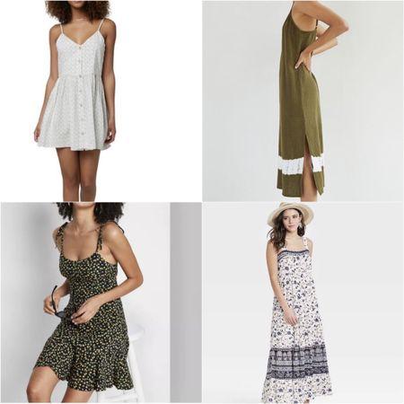 Fun in the sun summer dresses.  #LTKSeasonal