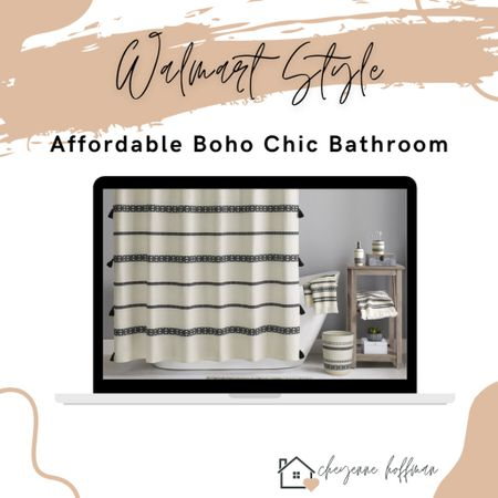 Walmart Style ✨ Walmart has really stepped up their game! I love my boho chic shower curtain + matching accessories SO much and they're affordable!    http://liketk.it/35tMi #liketkit @liketoknow.it #LTKhome #LTKunder50 #LTKNewYear