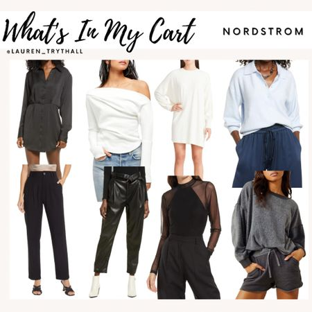 Fall favorites from Nordstrom. So many cute pieces for fall outfits   #LTKunder100 #LTKSeasonal #LTKunder50
