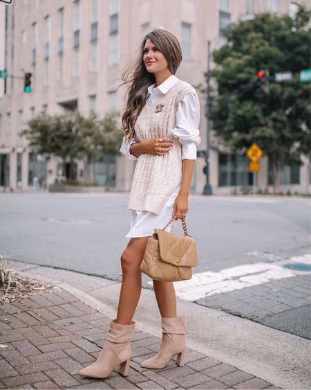 Sweater vest fall fashion   #LTKbacktoschool #LTKSeasonal #LTKunder50