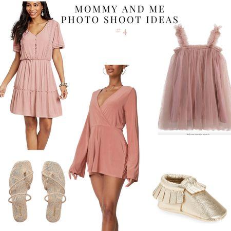Mommy and me outfit ideas #4 blush pink   #LTKSeasonal #LTKbaby #LTKfamily