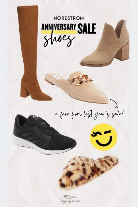 #nsale Nordstrom sale shoe finds OTK boots Fuzzy leopard print slippers Mules and suede ankle booties for fall   http://liketk.it/3jDa2 #liketkit @liketoknow.it #LTKsalealert #LTKshoecrush