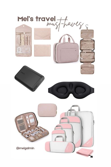 My travel must haves from Amazon