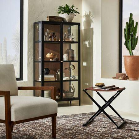Studio McGee in stock! Display cabinet, studio McGee, McGee & Co, affordable furniture, shelf styling   #LTKhome #LTKstyletip #LTKsalealert