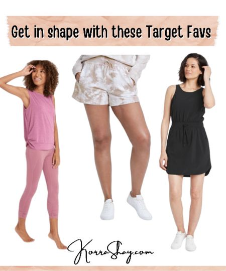 Get in shape with these Target favs!  Activewear from Target! New affordable activewear to help you get in shape and stay active this summer!  #LTKSeasonal #LTKunder50