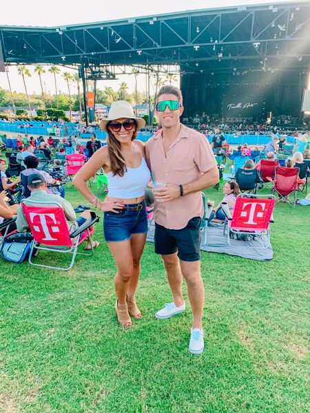 Love getting back to concerts and positive vibes! If you're looking for a fun outfit to wear for concerts that you can move in, then a pair of Levi's, a white crop tank and some boots with a cowboy hat won't do you wrong! 🤠  #LTKfamily #LTKSeasonal #LTKstyletip