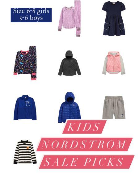 Kids' Nordstrom sale picks.  ✨ when online shopping for kids clothes, filter by gender and size to. I filtered for my daughter 7-8 and my son 5-6. http://liketk.it/3jPbj #liketkit @liketoknow.it #LTKkids #LTKsalealert #LTKunder50