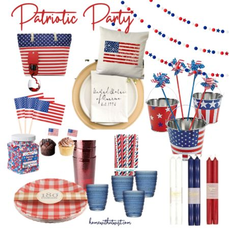 Patriotic party! Everything you need for Memorial Day, Flag Day and July 4th! http://liketk.it/3g7nm @liketoknow.it #liketkit #LTKhome @liketoknow.it.home Download the LIKEtoKNOW.it app to shop this pic via screenshot